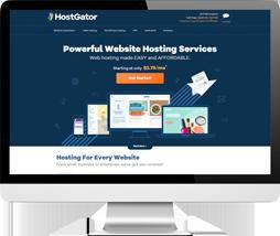hostgator screen