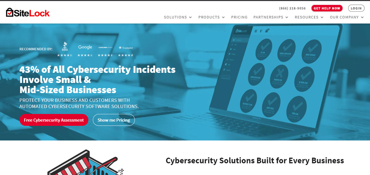 Sitelock Security Bluehost