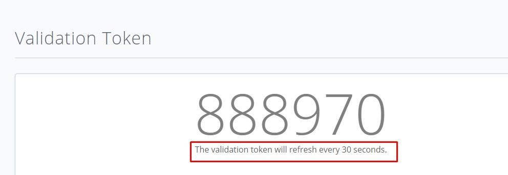 bluehost validation token customer support