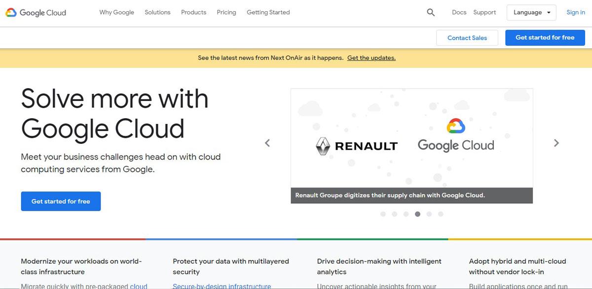 google cloud free trial vps