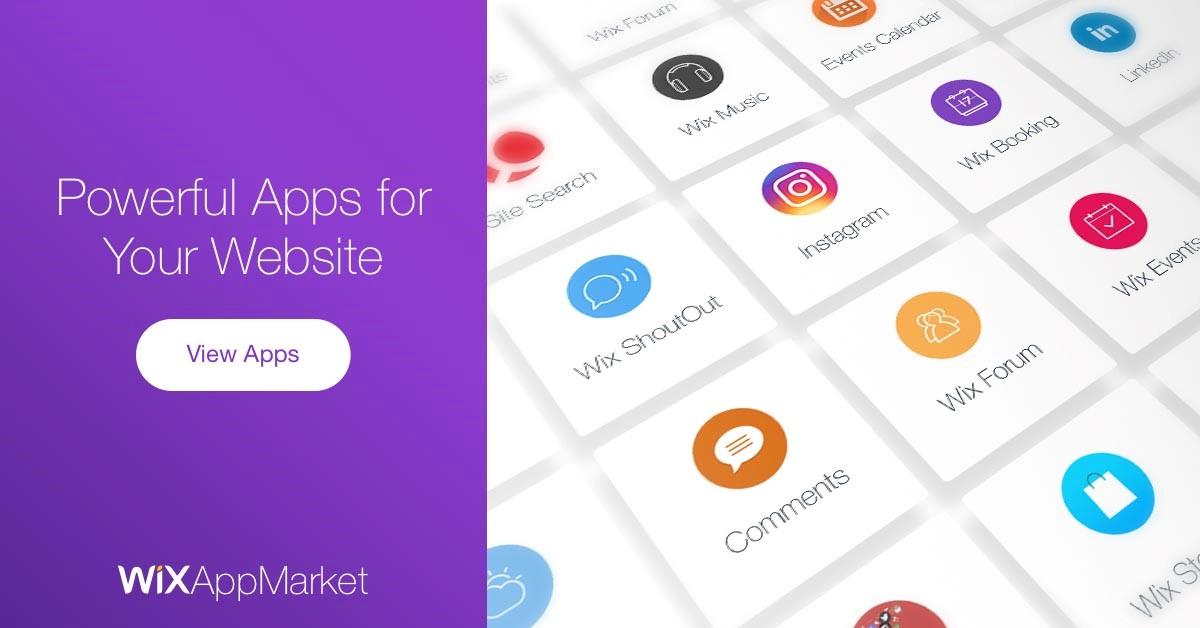 wix apps market