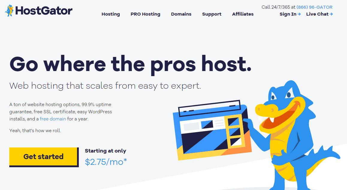 Hostgator indonesia homepage