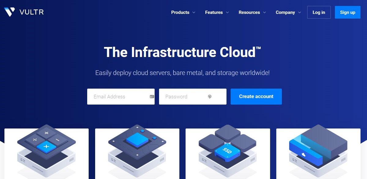 vultr infrastructure cloud servers
