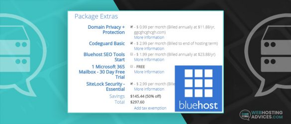 Is bluehost package extras worth it