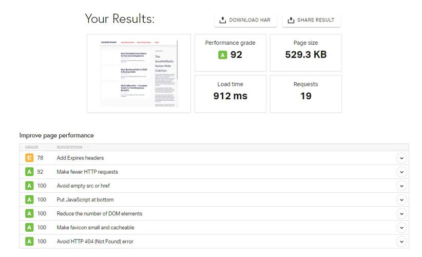 dreamhost shared hosting speed test