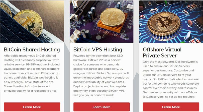 shinjiru bitcoin hosting plans