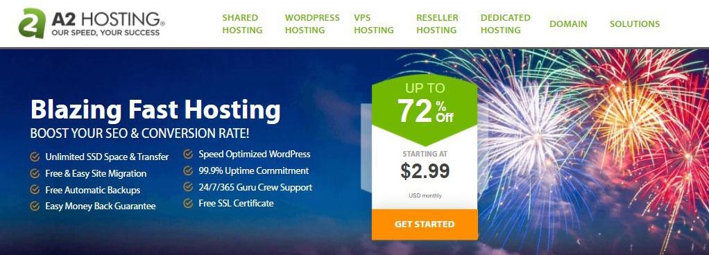 A2Hosting Server Location
