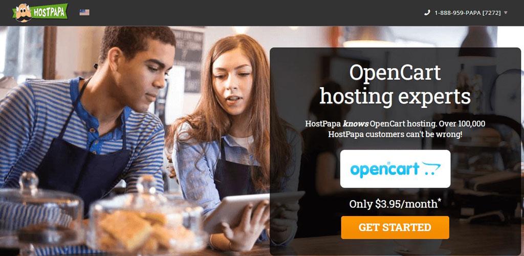 hostpapa opencart