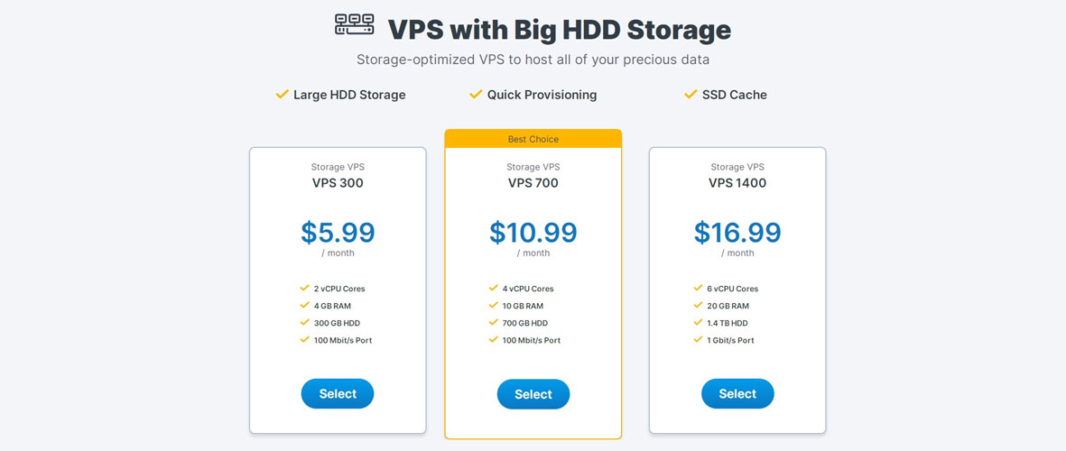 contabo storage vps