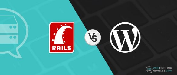 ruby on rails vs wordpress