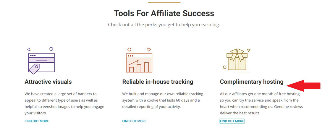 siteground complimentary hosting affiliates