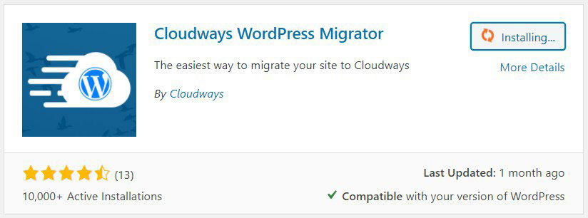 how to migrate wordpress to cloudways