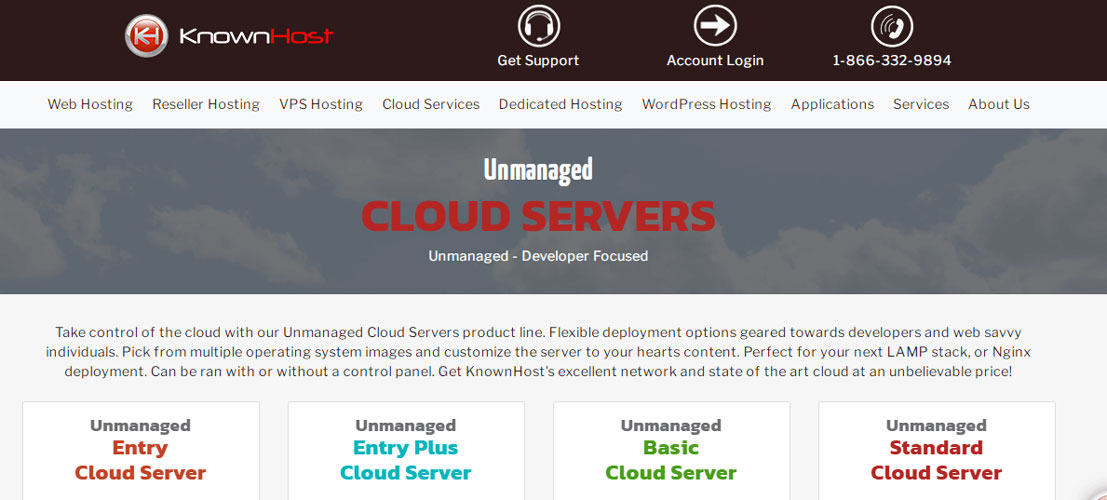 knownhost cloud servers