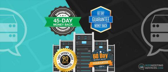 web hosting money back guarantee
